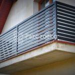 Nowoczesne balustardy na balkon