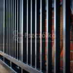 Metalowe bramy przesuwne dla przemysłu