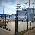 Brama panelowa przesuwna 4m