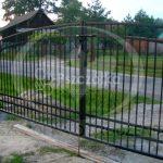 Brama wjazdowa metalowa