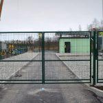 Brama panelowa dwuskrzydłowa Kraków