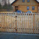 Ogrodzenia i bramy drewniane