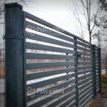 Brama nowoczesna panelowa Pszczółka Ogrodzenia Bramy Nowoczesne Kute Metalowe Panelowe Kraków Bochnia Tarnów Niepołomice Brzesko Limanowa