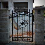 Furtka ogrodzeniowa Pszczółka Ogrodzenia Bramy Nowoczesne Kute Metalowe Panelowe Kraków Bochnia Tarnów Niepołomice Brzesko Limanowa