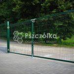 Brama Panelowa 3, 4m, 5m, 6m Pszczółka Ogrodzenia Bramy Nowoczesne Kute Metalowe Panelowe Kraków Bochnia Tarnów Niepołomice Brzesko Limanowa