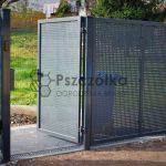 Ogrodzenia z Blachy Perforowanej Pszczółka Ogrodzenia Bramy Nowoczesne Kute Metalowe Panelowe Kraków Bochnia Tarnów Niepołomice Brzesko Limanowa