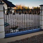 Nowoczesne ogrodzenia metalowe kute
