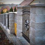 Nowoczesne ogrodzenia betonowe Joniec