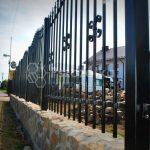 Przęsła metalowe na ogrodzenie