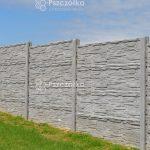 Ogrodzenia betonowe z płyt