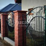 Nowoczesne ogrodzenia metalowe