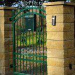 Nowoczesne ogrodzenia z bloczków