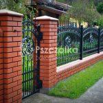 Nowoczesne ogrodzenia klinkierowe