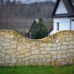 Nowoczesne ogrodzenia z kamienia