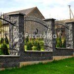 Nowoczesne ogrodzenia kute Gdów