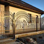 Nowoczesne ogrodzenia kute Wieliczka