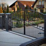 Nowoczesne ogrodzenia i bramy kute wzory