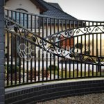Nowoczesne wzory ogrodzeń kutych