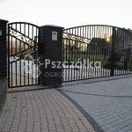 Nowoczesne bramy ogrodzeniowe kute metalowe Bochnia