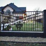 Nowoczesne Ogrodzenia kute Małopolska