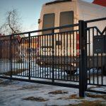 Nowoczesne ogrodzenia bramy