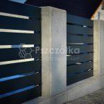 Nowoczesne ogrodzenia aluminium