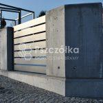 Nowoczesne ogrodzenia beton architektoniczny