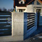 Nowoczesne ogrodzenia z betonu