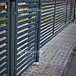 Nowoczesne ogrodzenia palisadowe panelowe profilowe