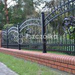 Nowoczesne ogrodzenia kute