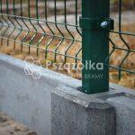 Ogrodzenia panelowe podmurówki betonowe