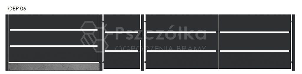 Nowoczesne ogrodzenia i bramy z blachy perforowanej Bochnia Kraków Tarnów Niepołomice Brzesko Wieliczka Limanowa OBP06