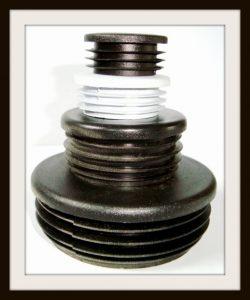 Zaślepki, kapturki wewnętrzne nasłupki okrągłe - rurę