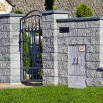 Ogrodzenia frontowe murowane betonowe Tarnów Bochnia Kraków Wieliczka Niepołomice
