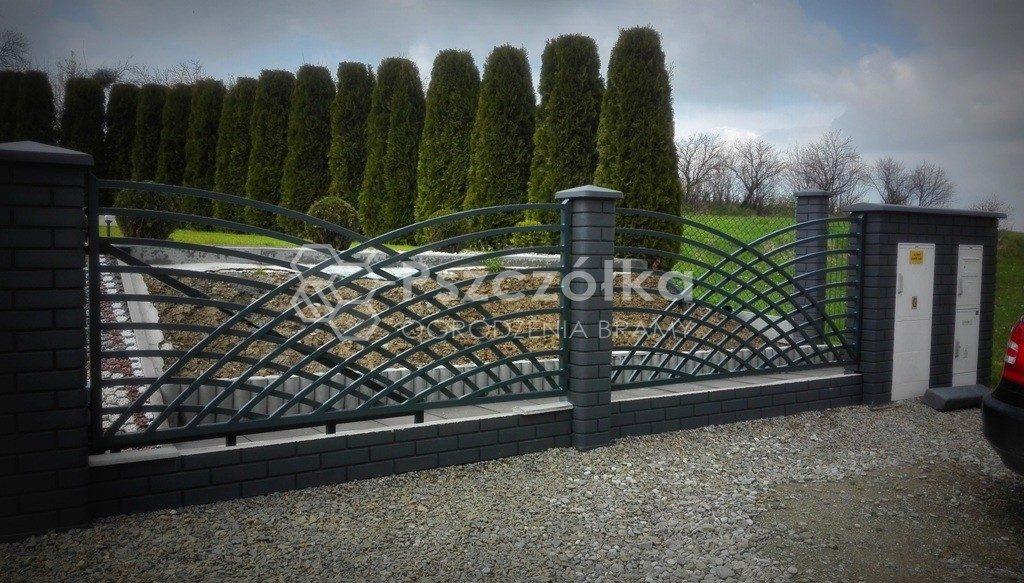 Ogrodzenia i bramy nowoczesne metalowe kute panelowe Limanowa