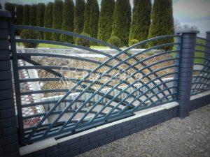 Nowoczesne ogrodzenia metalowe Limanowa