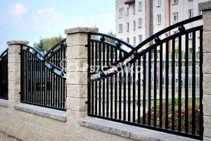 Nowoczesne ogrodzenia bramy metalowe kute Bochnia Kraków Tarnów Limanowa
